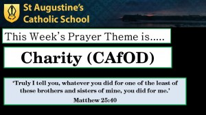 Theme of the Week: Charity (CAfOD)