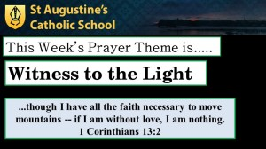 Theme of the Week: Witness to the Light