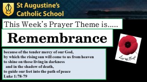 Theme of the Week: Remembrance