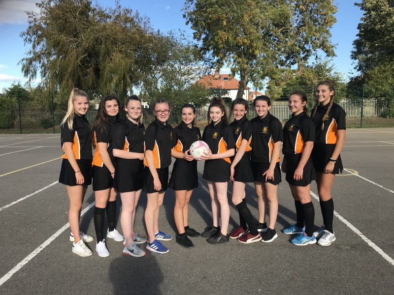 Year 9's – 3rd Place in the U14 District Netball tournament