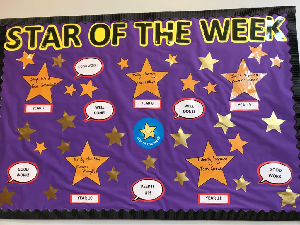 Star of the Week 9th – 13th March