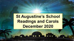 Readings and Carols 2020